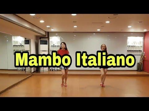 Mambo Italiano Line Dance(beginner)- Susan Prats(2018)