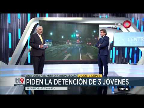 Vicente López: Los videos del trágico choque