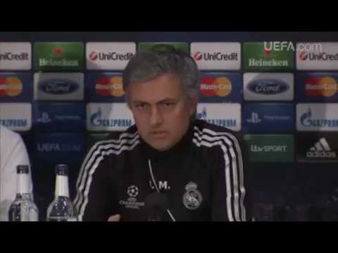 Press Conference_ Jos Mourinho (Real Madrid), Sir Alex Ferguson And Ryan Giggs (Man. United)