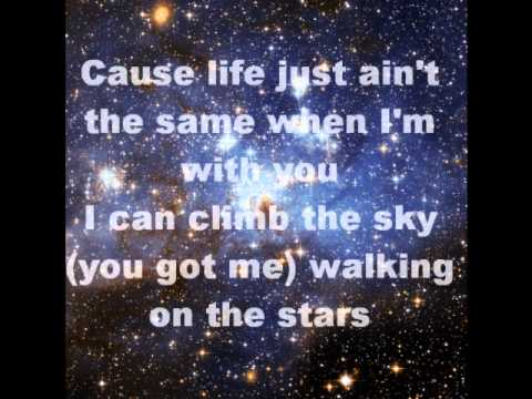 Group 1 Crew - Walking on the Stars (Lyrics)