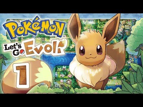 POKEMON LETS GO EVOLI 🌏 #1: Dominas und Evolis Kanto-Reise in HD