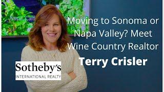 Meet Terry Crisler - Sonoma & Napa Valley Realtor