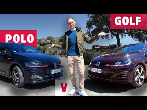 Should I buy the Golf GTI or Polo GTI? | Volkswagen Comparison Review