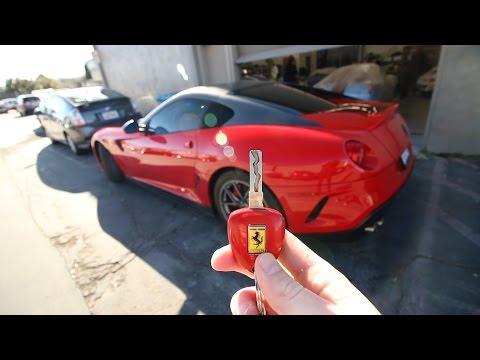 Driving the $700,000 Ferrari 599 GTO