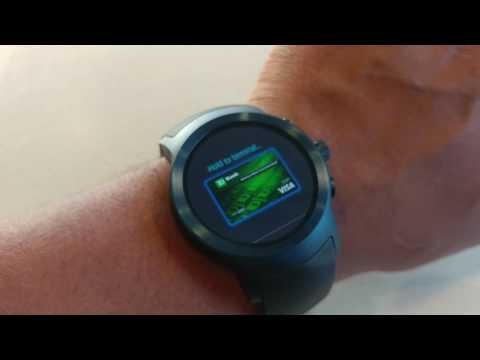 Pay Like a BOSS with LG Watch Sport     (Android Pay Demonstration)