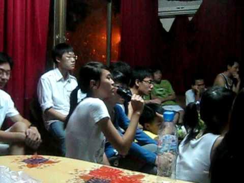 12a3-Trần Phú Đồ Sơn08-hát karaoke Lời của gió