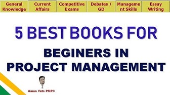 Top 5 Project Management Books for Beginners or accidental Project Managers