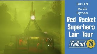 Fallout 76 - C.A.M.P.  Build - Red Rocket Superhero
