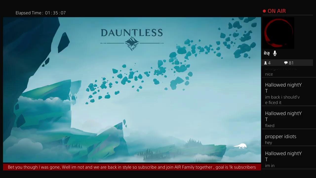 DAUNTLESS SERVERS UP - BOSS FIGHT -