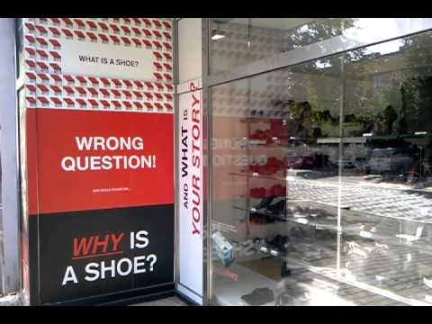 WHY IS A SHOE? BATA AD - PRAGUE ADVERTISING
