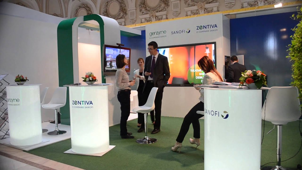 Exhibition Stand Interactive : Sanofi interactive exhibition stand youtube