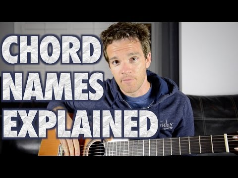 How Chords are Named: Easy Music Theory