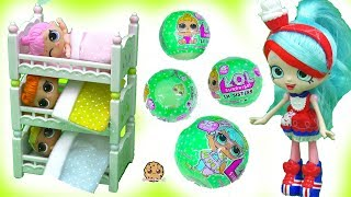 Video Bunk Bed Babies - LOL Surprise Baby Lil Sisters Color Change + with Shopkins Shoppies Doll download MP3, 3GP, MP4, WEBM, AVI, FLV Juli 2018