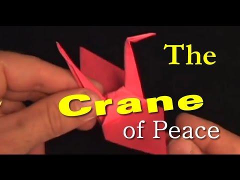 #19: How to Make an Origami Crane // Tiniest Crane made ... - photo#23