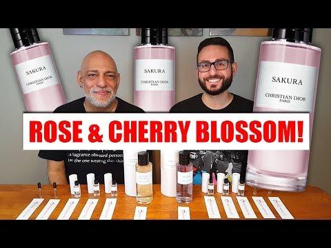 Christian Dior Sakura Perfume Fragrance Review Youtube