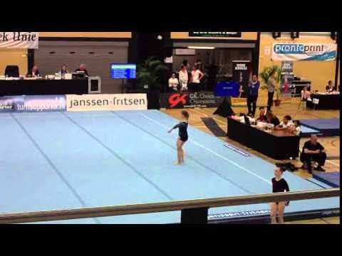 Nicky halve finale Jeugd2 Suppl E 11-4-2015 Duiven