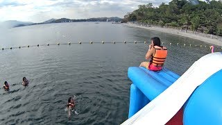 Hilarious Jumping Pillow at Inflatable Island Subic