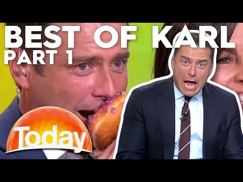 Best of Karl Stefanovic: Part 1   TODAY Show Australia
