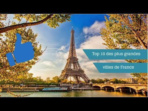 top 10 des plus grandes villes de france youtube. Black Bedroom Furniture Sets. Home Design Ideas