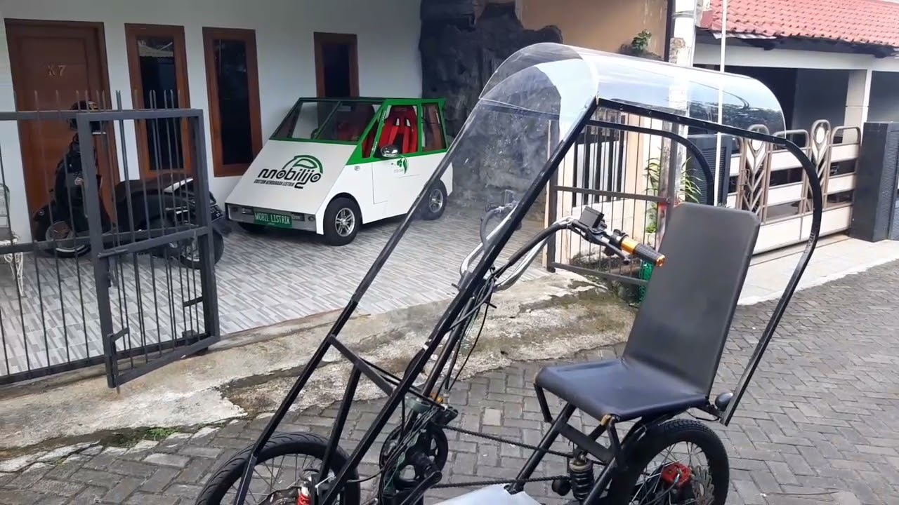 Inovasi Kendaraan listrik Roda 3 CP 08122669090