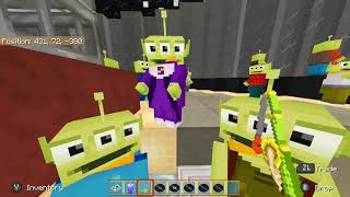 Minecraft Toy Story Mash Up Pack: 12 Disc Locations
