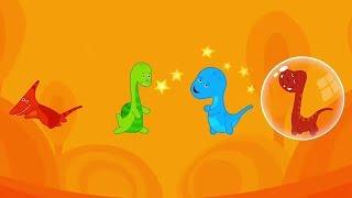 Dinosaur Fun Games For Kids - Baby Tv Games - Nursery Rhymes - Rhymes Songs