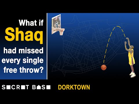 What if Shaq missed all 11,252 of his free throws? | Dorktown
