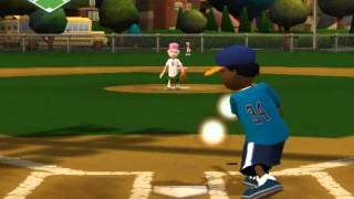 Backyard baseball 09 6 innings play game
