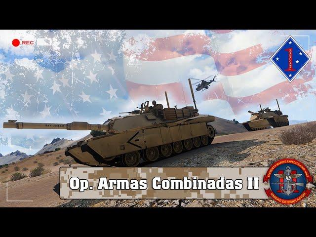ARMA 3 | Op. Armas Combinadas II | 11ThMEU (SOC) | Español