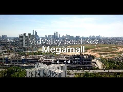 MidValley Southkey Megamall Johor Bahru - Progress as 01.12.2017