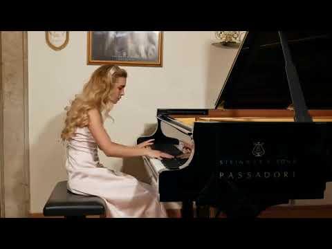 Chopin Etude op 10 n 4 in C sharp minor - Giulia Rossini