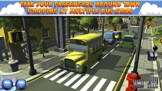 Bus Parken Spiele - 3D-Cartoon-Bus-Parkplatz-Simulator GamePlay