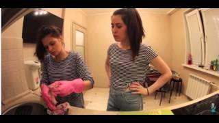 Смешные моменты из видео Юлии Пушман а именно из кукинга