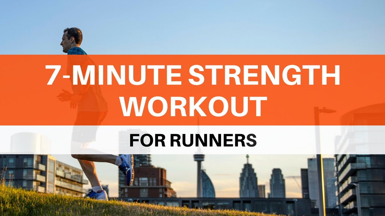 7 minute strength workout for runners youtube. Black Bedroom Furniture Sets. Home Design Ideas