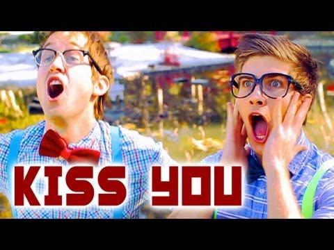 One Direction - Kiss You - Luke Conard & Joey Graceffa Music Video Cover