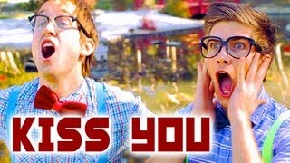 One Direction - Kiss You - Luke Conard & Joey Graceffa Music Video Cover