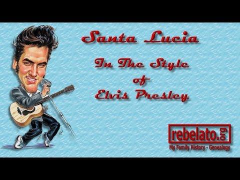 Santa Lucia - Elvis Presley - Online Karaoke Version