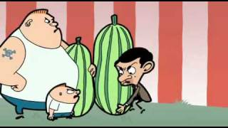 Mr  Bean Animated Series Super marrow Part2