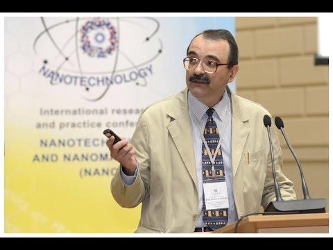 Prof. Strikha (Ukraine) on NANO2015 Conference