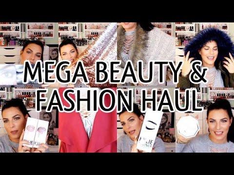 XXXXL Beauty & Fashion try-on HAUL! Primark, Huda, Douglas, Kylie, Zara, Amazon, Bershka, SheIn,...