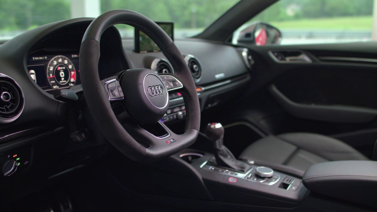2018 Audi Rs3 Interior Design