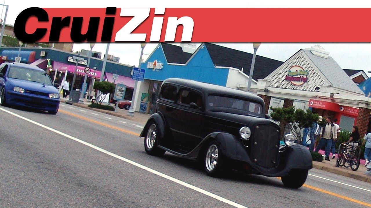 VA Beach Auto Super Show Cruisen Mix Virginia Beach Oceanfront - Virginia beach cruise in car show