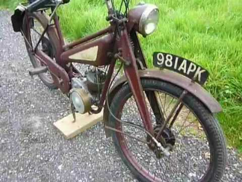 1949 New Hudson Autocycle (SOLD)