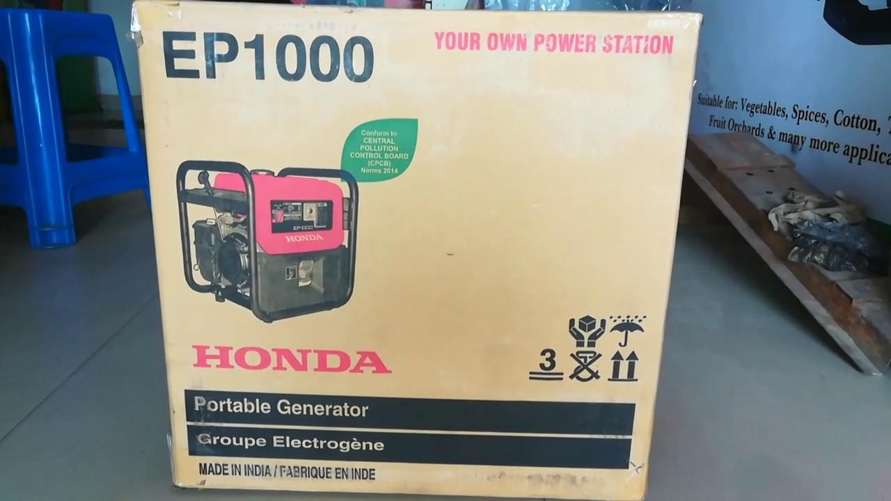 ep 1000 honda generator price