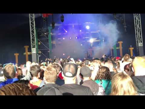 Angerfist & MC Nolz - The Deadfaced Dimension @ FANTASY ISLAND 2016.