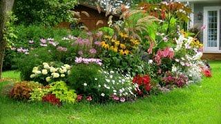 видео Английский - пейзажный стиль в ландшафтном дизайне. Ландшафтный дизайн Англии.