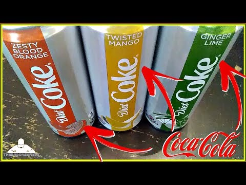 new-diet-coke®-review!-|-new-flavors!