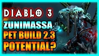 Diablo 3 Witch Doctor - Pet Build Potential Patch 2.3 Gameplay Preview