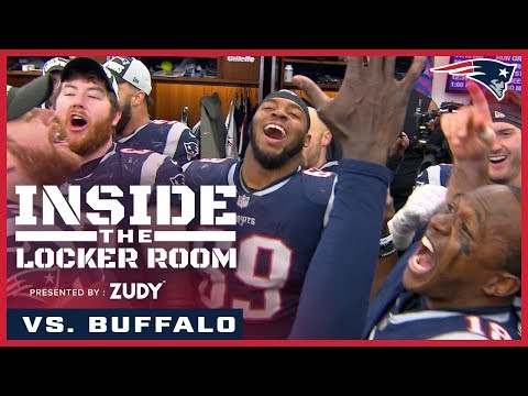 Inside the locker room after the Patriots clinch the AFC East