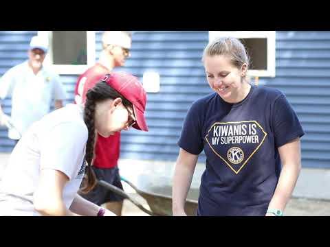 Kiwanis Governors Visit 2019 - Habitat For Humanity Northshore Build